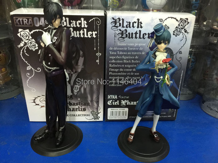Anime Black Butler Phantomhive Kuroshitsuji Ciel And Sebastian PVC