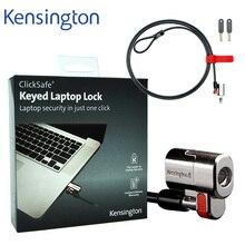 Kensington original anti roubo clicksafe keyed portátil ultrabook lock com corrente de cabo de segurança de 1.5m com pacote de varejo k64664