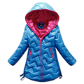 Nueva Llegada niñas Abajo chaqueta de Alta Calidad de Diseño de Los Niños de Boys & Girls Medio Abajo Cubren el envío libre