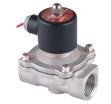 Free Shipping 5PCS 1 25mm Stainless Steel Solenoid Valve Normally Closed 2Way VITON Oil Acid AC220V 1 1 4 stainless steel electric solenoid valve normally closed 2s series stainless steel water solenoid valve