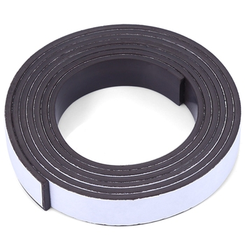 1 Meter Rubber Magnet 10*1.5 mm self Adhesive Flexible Magnetic Strip Rubber Magnet Tape width 10 mm thickness 1.5 mm rollo de goma adhesiva