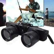 Модные очки Телескоп бинокль лупа глаз носить поляризованные солнцезащитные очки для просмотра Футбол Спорт Рыбалка Путешествия BB55