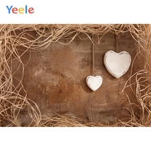Yeele Wallpaper Love Heart Wheat Straw Warm Simple Photography Backdrops Personalized Photographic Backgrounds For Photo Studio