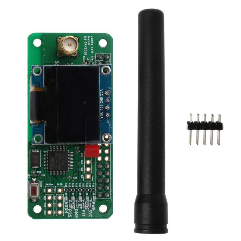 Support de Hotspot MMDVM P25 DMR YSF NXDN pour Raspberry Pi + OLED + Module de Hotspot d'antenne