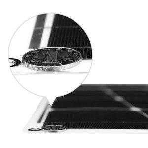 Image 3 - Dokio 12v 100 ワット単結晶柔軟なソーラーパネルポータブル 100 ワットパネル太陽 16 12v車/ボート/ホームパネル太陽 200 ワット中国