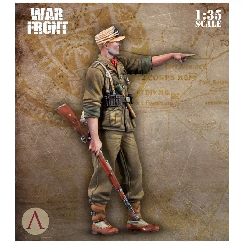 <font><b>1</b></font>/<font><b>35</b></font> (50-60mm) <font><b>Resin</b></font> Soldier <font><b>Model</b></font> Kits <font><b>German</b></font> Colorless And Self-assembled DE-05 image