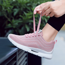 Women Sneakers Mesh Shoes Women Tenis Feminino Casual Shoes Lace Up Sneakers Women Breathable Flats Feminino Sapato Zapatillas