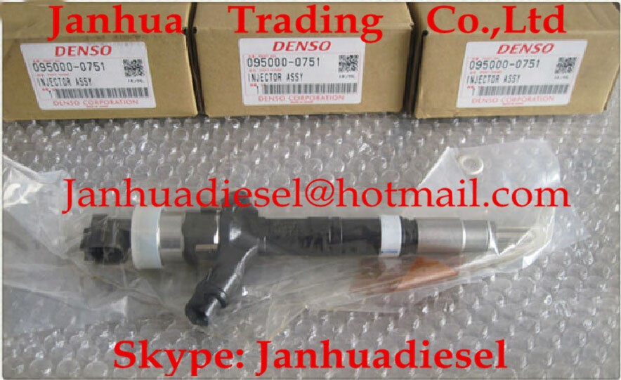 US $275 6 |DENSO common rail injector 095000 0750, 095000 0751, 095000 0530  for TOYOTA 23670 30020, 23670 39025-in Fuel Injector from Automobiles &