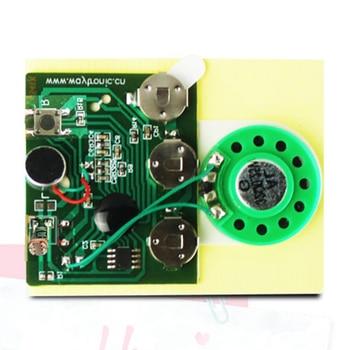30s Sound Voice Audio Recordable Music Recorder Board Module Chip Programmable Music Module for Greeting Card DIY waveblaster module midi interface board sound card wavetable
