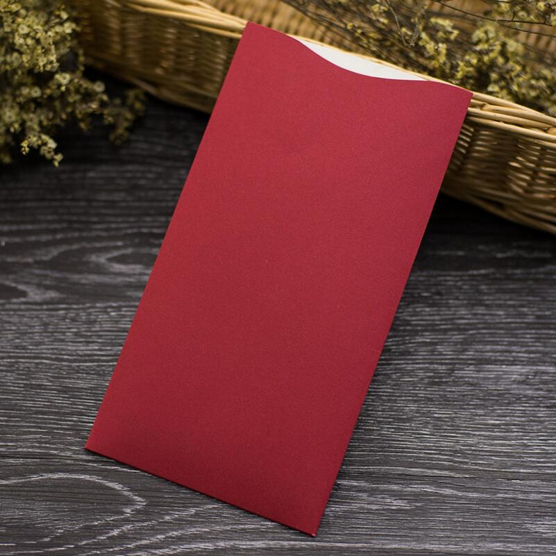 20pcs lot Creative Bronzing Greeting Card Wine Glass Hollow Paper Card Business Wedding Invitation Card with Blank Inner Page in Cards Invitations from Home Garden
