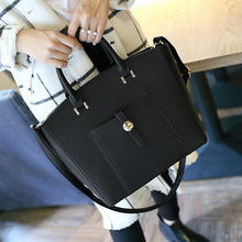 2016 Spring Xia Xinkuan Woman Package Pocket Litchi Grain Hand Bill Of Lading Shoulder Package Oblique Satchel