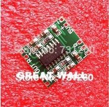 100 шт. модуль PAM8403 мини цифровой усилитель доска 2*3 Вт Класса D цифровой усилитель доска эффективное 2.5 до 5 В USB питания