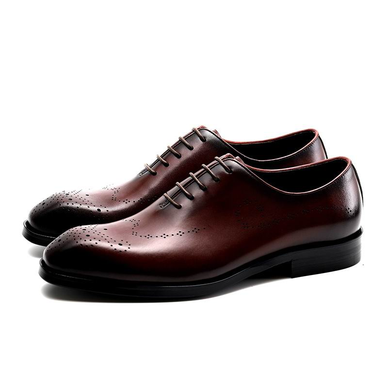 Bureau Lace Up Robe Rouge Chaussures Cuir vin Respirant Homme En Hombre Richelieu Noir Carré Formelle Loisirs Errfc Zapatos Toe Noir H6O0YR