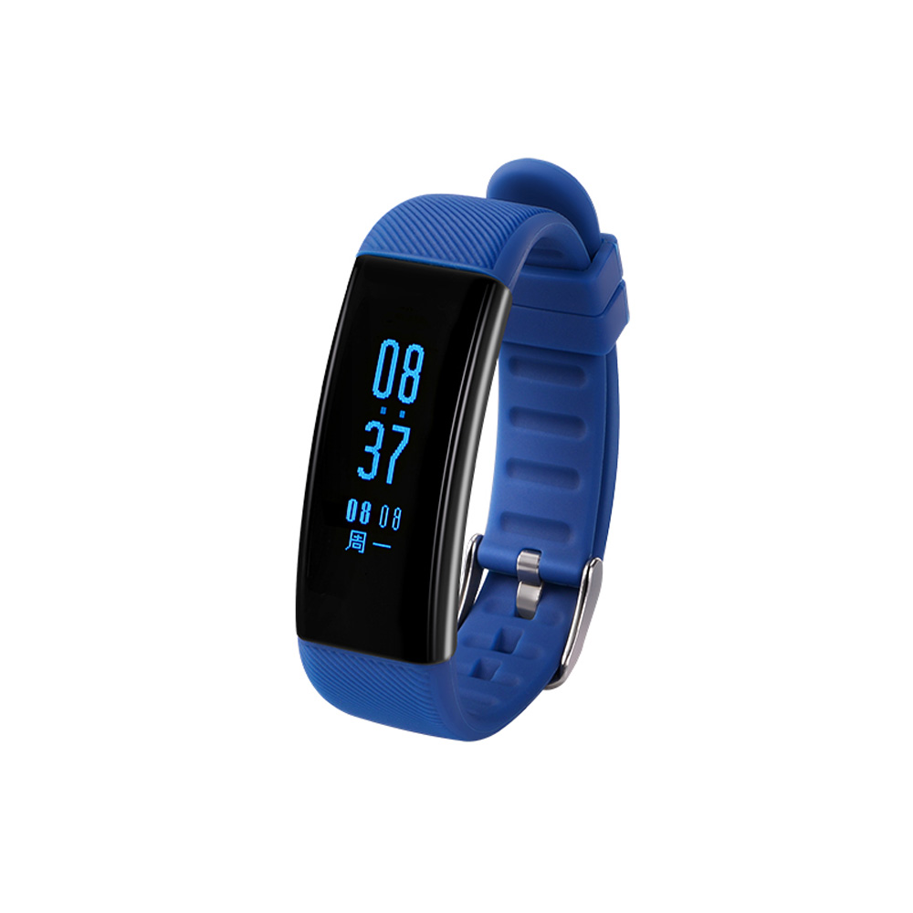 2017 Swimming Waterproof Smart Band Blood Pressure Heart Rate Smart Bracelet with Pedometer Alarm Clock Call