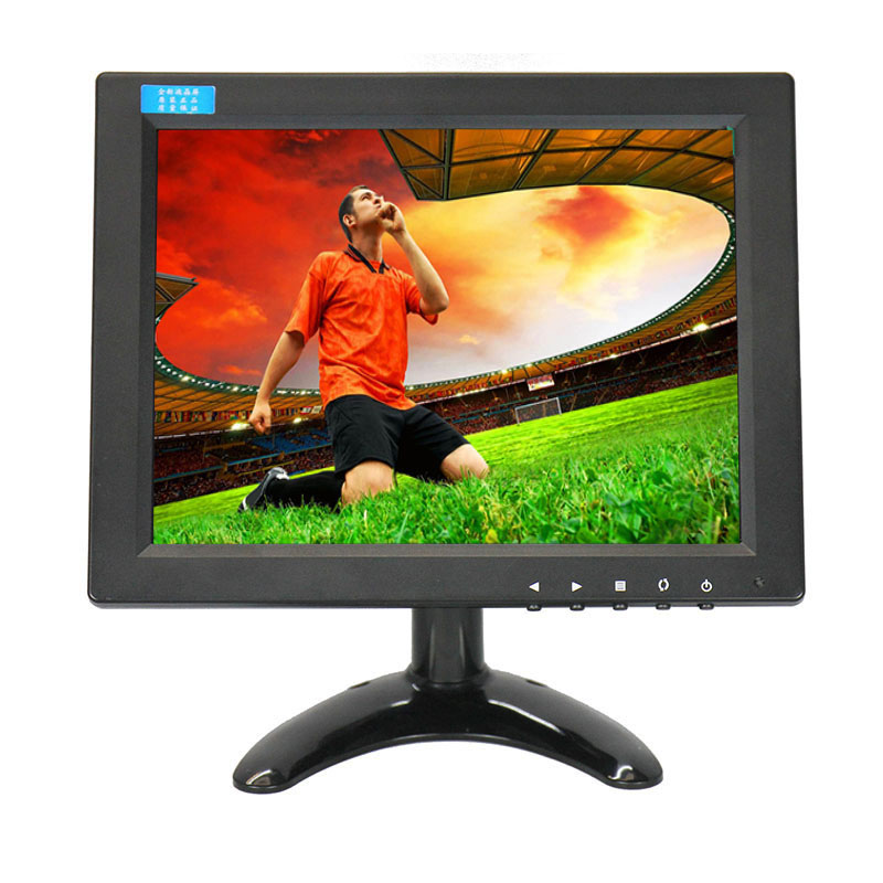 IPS monitor 9.7 inch industrial grade plastic case car monitor 1024*768 resolution with AV/BNC/VGA/HDMI/USB interface white 8 inch open frame industrial monitor metal monitor with vga av bnc hdmi monitor