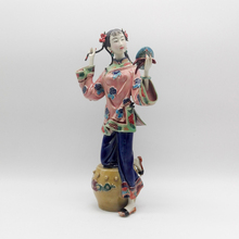 Chineses Style Hot Sale Ceramic Laddy Sculptures Female Dolls Antique Statues Glazed Porcelain Christmas Art Collectibles collectibles glazed ceramic dolls laddy sculptures chinese female statues figurine christmas gifts chinese traditional art