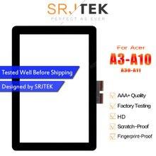 SRJTEK 10,1 «сенсорный экран для acer Iconia Tab A3-A10 A3-A11 A3 A10 A11 Сенсорная панель дигитайзер стекло объектив сенсор запасные части