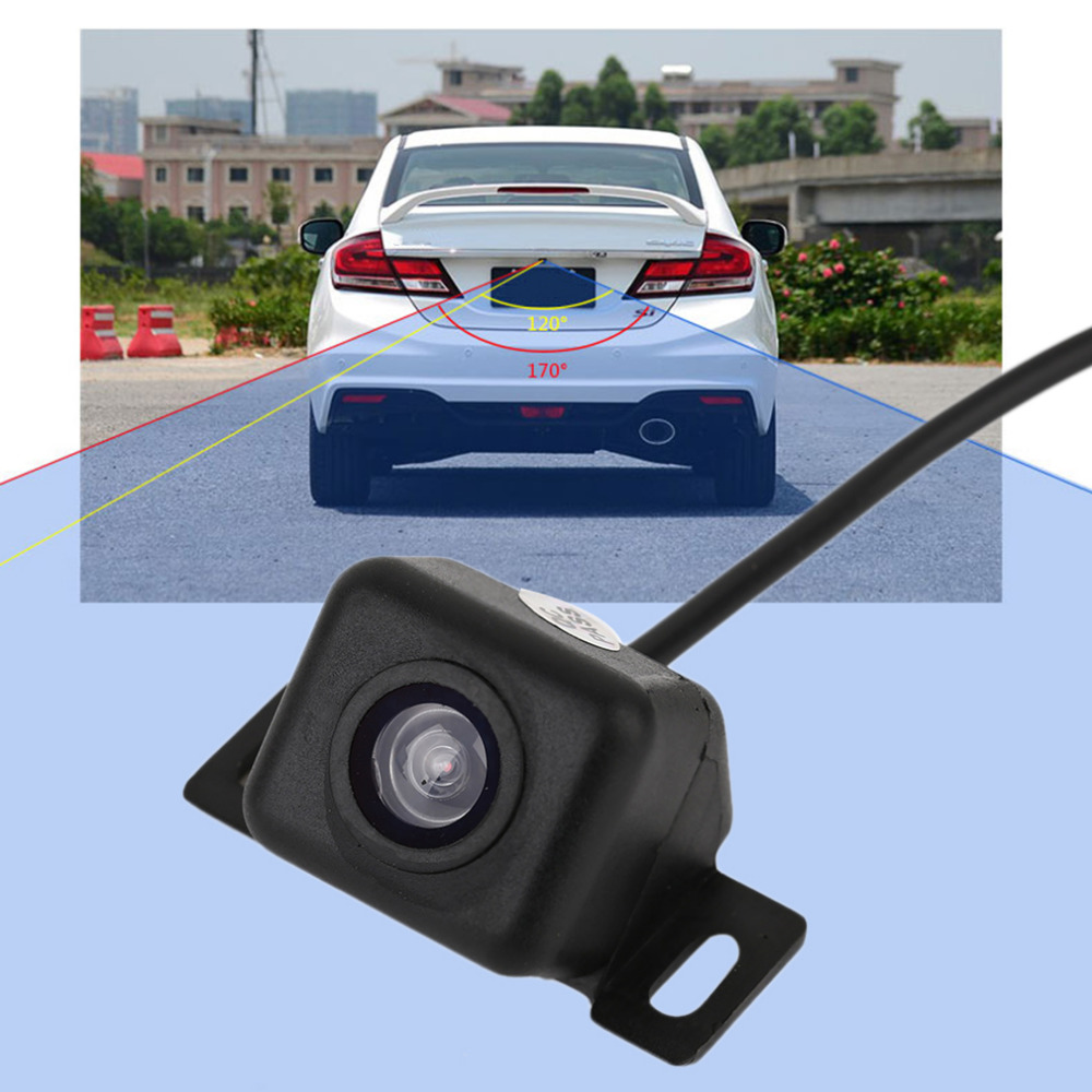 купить Professional Mini Car Rear View Camera LCD Color Mirror Monitors Parking System & Car Rear Camera Auto Reverse LED Night Vision недорого