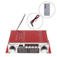 Universal SALUT-FI Numérique Lecteur Audio De Voiture Amplificateur FM Radio Stéréo Lecteur soutien SD/USB/DVD/MP3 Entrée avec Télécommande contrôle