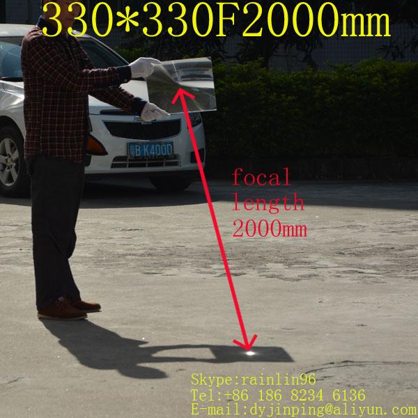 330*330mm F2000 super long focal length Fresnel Lens,high magnification solar energy condenser lens1200 tims , outside cooking doumoo 330 330 mm long focal length 2000 mm fresnel lens for solar energy collection plastic optical fresnel lens pmma material