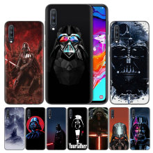 Bags Shell Coque Cover For Samsung Galaxy A7 A8 A9 A6 J4 J6 Plus 2018 Note 8 9 10 S7 Edge Silicone Cases Darth Vader FATHER Star(China)