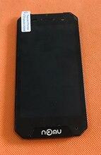 בשימוש המקורי LCD תצוגת מסך + מסך מגע + מסגרת עבור Nomu S30 מיני MTK6737T Quad Core משלוח חינם