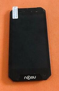Image 1 - בשימוש המקורי LCD תצוגת מסך + מסך מגע + מסגרת עבור Nomu S30 מיני MTK6737T Quad Core משלוח חינם