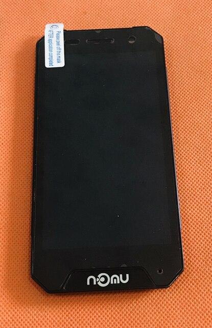 Écran LCD Original utilisé + écran tactile + cadre pour Nomu S30 MINI MTK6737T Quad Core livraison gratuite
