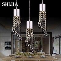 Postmodern Crystal LED Pendant Lights Individual Design for Living room Bedroom Dining room Bar Hanging Pendant Lamp