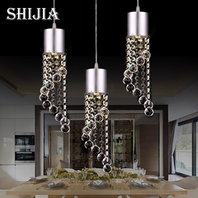 Postmodern Crystal LED Pendant Lights Individual Design For Living - Individual pendant lights