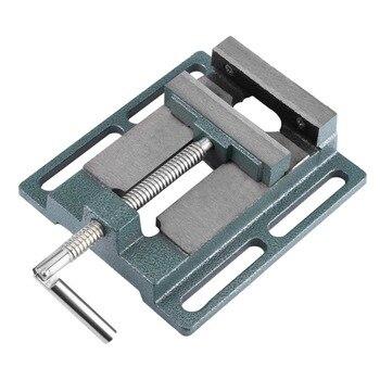 Resistente 4 polegada tamanho de abertura furadeira torno fresagem braçadeira de perfuração máquina vice ferramentas acessório