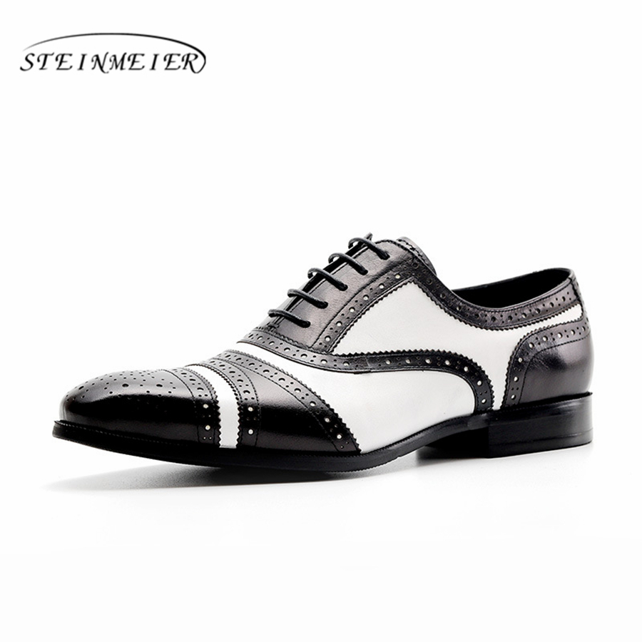 Genuine cow leather brogue business Wedding shoes mens casual flats shoes vintage handmade sneaker oxford shoes for men black 2016 classic vintage mens heighten shoes genuine leather handmade comfortable outdoor shoes men flats for leisure business e1 page 6