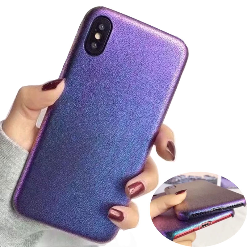For iphone X Case Fitted PU Soft Back Cover For iphone 6 6s 7 8 Plus Ultra-thin Shockproof Protective Mobile Phone Housing
