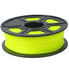 3D Printer Filament 1kg/2.2lb 3mm PLA Plastic for Mendel yellow