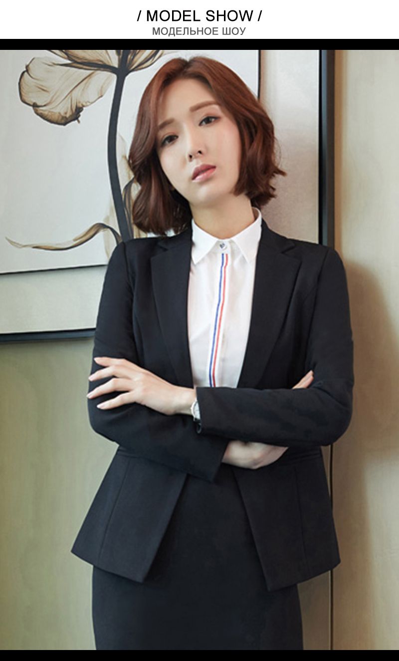 Detail Feedback Questions about Suit Women Office Uniform Pants And ... b803be2ceb25