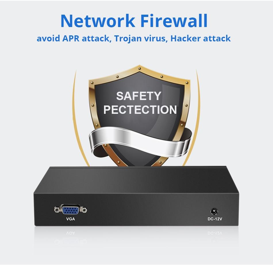 Image 4 - Pfsense Fanless Mini PC Intel Celeron J1800 J1900 4 LAN Gigabit Ethernet RJ45 Firewall Router Linux Windows-in Mini PC from Computer & Office