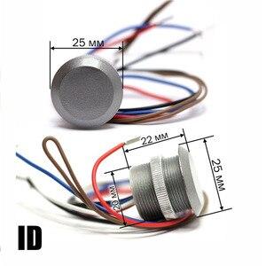 Image 1 - Kostenloser versand 125Khz RFID kompatibel EM Marine Kleine Mini karte wiegand26 ID Reader + 1 stücke EM4100 keyfobs
