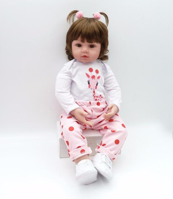 Silicone Reborn Baby Dolls Boneca Reborn Realist Doll 6