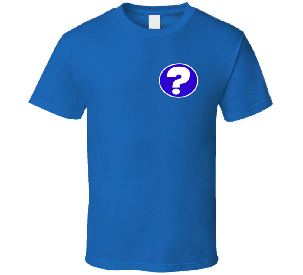 Summer Simple Style Mysteries Question Mark Mike Tyson T-Shirt Cool Fashion Gift Tees For Men