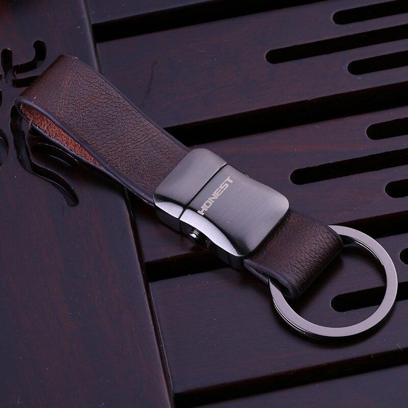 High Quality Brand Design Luxury Leather Keychain For Man Women Car Key Chain Key Ring Birthday Gift Key Holder цена