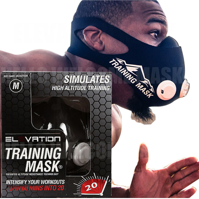 Elevation Training Mask 2.0 for mma fitness high Conditioning Simulates Altitude Sport 2.0 training mask newest pt training sport mask sliver model for mma sport gym training of mask 2 0
