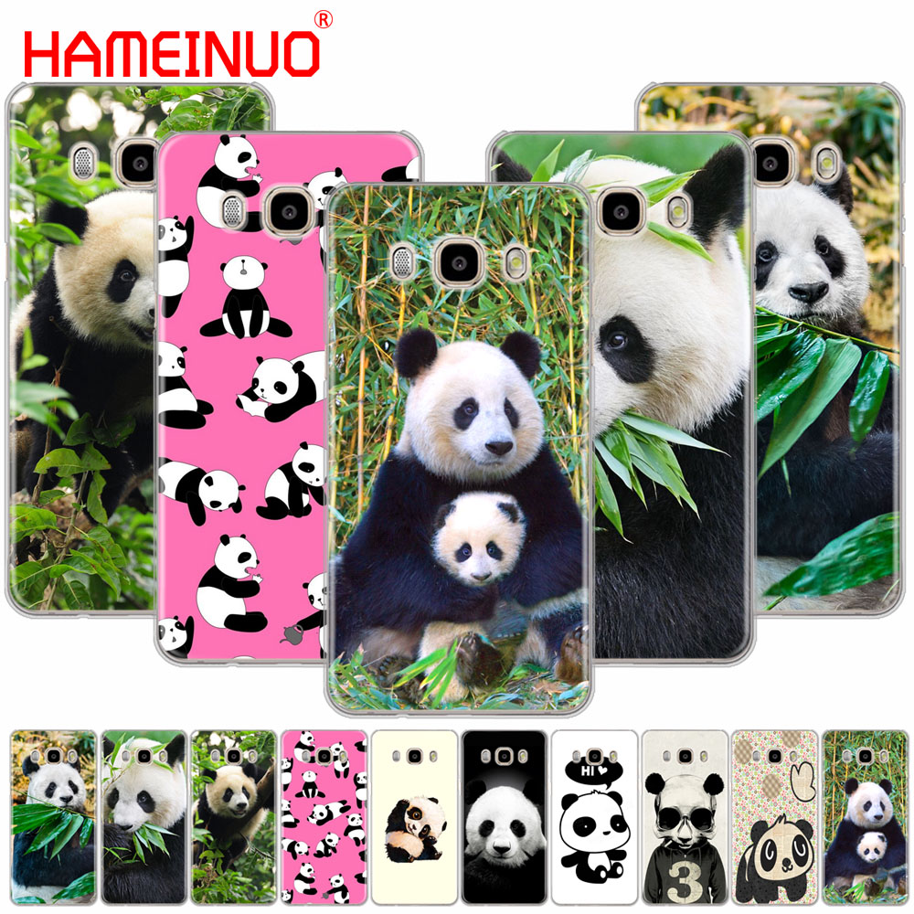 HAMEINUO lovely Chinese Panda cover phone case for Samsung Galaxy J1 J2 J3 J5 J7 MINI ACE 2016 2015 prime