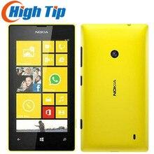 Nokia Lumia 520 разблокированный двухъядерный 3g wifi gps 5MP камера 8 Гб Память Windows мобильный телефон Восстановленный