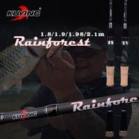 46T Hight Carton Rainforest Cork Handle 1 8m 1 9m 2 28m CASTING Lure Fishing Rod