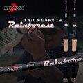 KUYING rainviest 1,8 m 2,1 1,98 1,9 m fundición Spinning señuelo caña de pescar caña suave medio fibra de carbono acción rápida 2 secciones