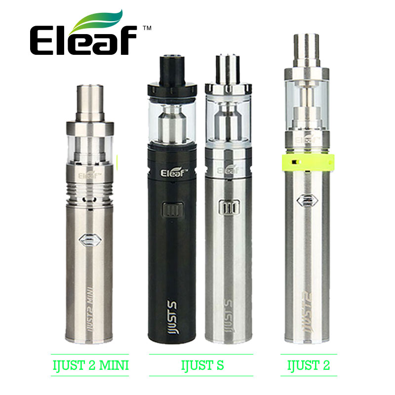 Originale Eleaf ijust s Starter Kit 3000 mah 4 ml Vape/iJust 2 Starter Kit 2600 mAh 5.5 ml/Solo 2 Mini Kit Vaping Kit 2 ml