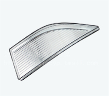 Стайлинга автомобилей передний бампер вставка Отражатели Туман лампа Стикеры для VW Passat B7 2012 2013 2 шт. комплект