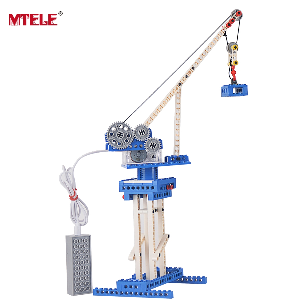 MTELE Brand 171 PCS Electric Toys Plastic Model Kits Building Blocks Bricks Set High Quality DIY Toys For Children 4 Modles In 1 2016 kids diy toys plastic building blocks toys bricks set electronic construction toys brithday gift for children 4 models in 1
