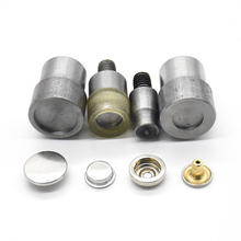 20set brass snap fasteners and molds Install button Sewing snaps Environmentally Invisible high quality jacket buttons