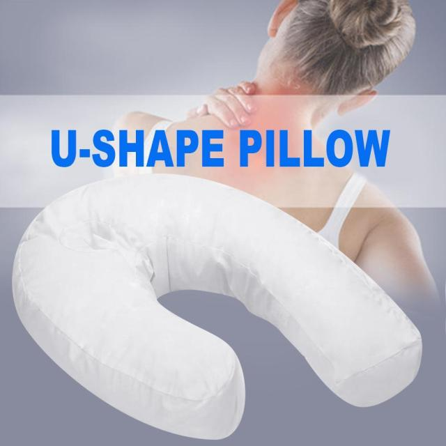 Health Care Pillow Side Sleeper Pillows Neck & Back Pillow Hold Neck Spine Protection Cotton Pillow 3
